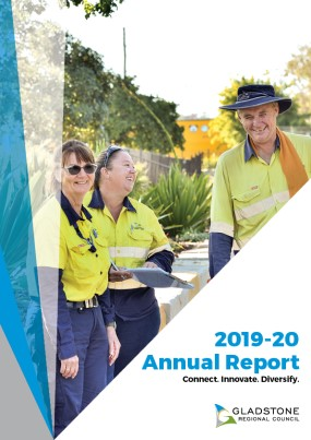 2019 20 Annual report cover