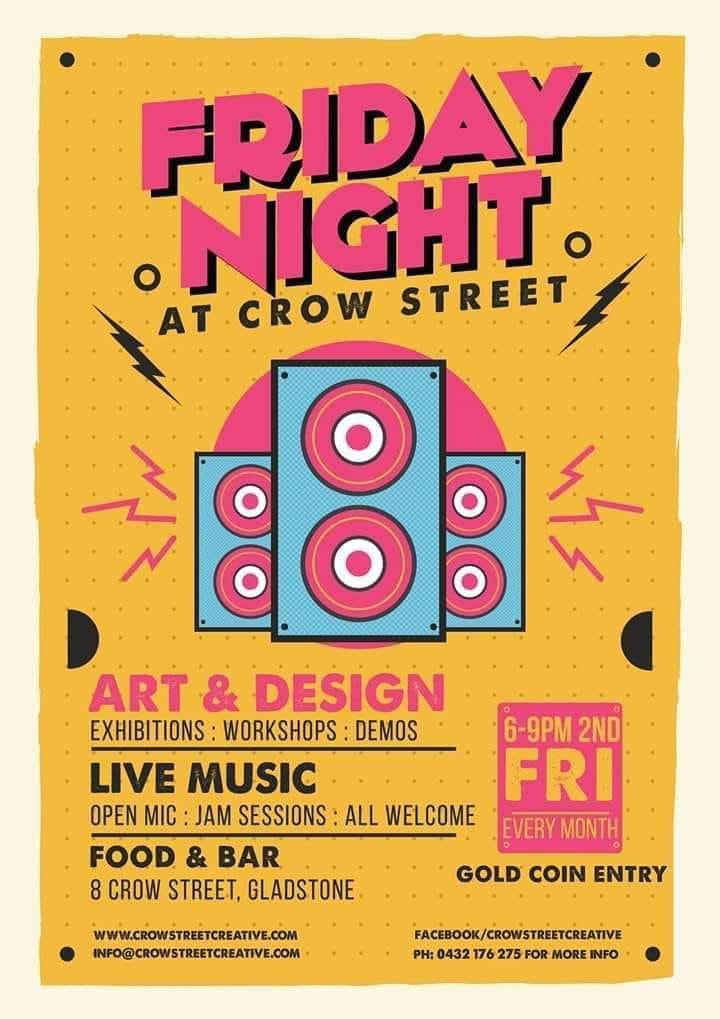 Friday Night at Crow St Flyer