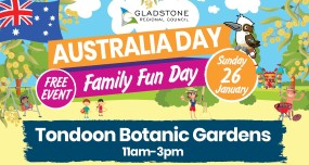 Australia day family fun day ad