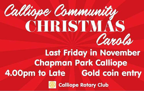 Calliope Community Christmas Carols
