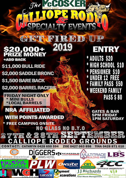 Calliope rodeo poster