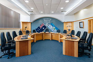 GRC stock image of the Council Chambers