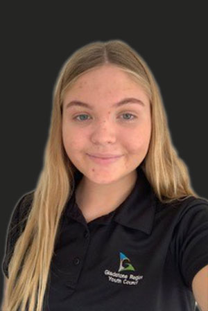 Emily Dunnett – Gladstone Region Youth Councillor and Our Coast Our Future Representative