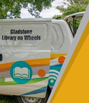 Library out and about vehicle