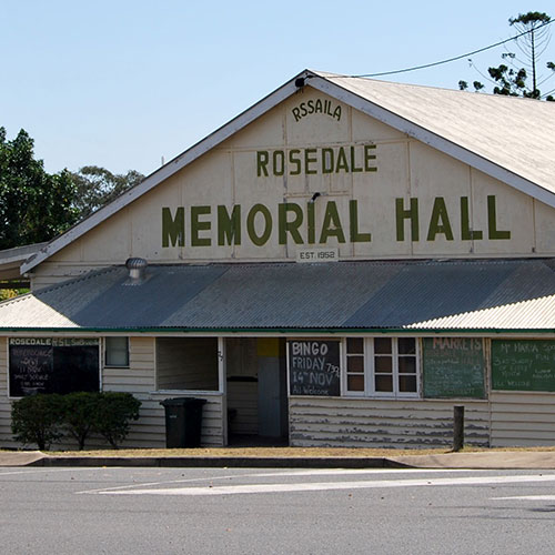 GRC Stock Image: Community Hall - Rosedale