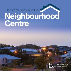 Virtual neighbourhood centre advert