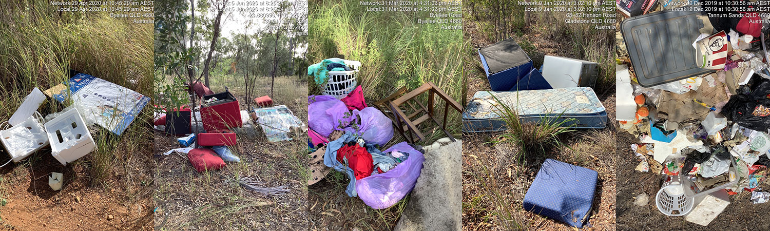 Illegal dumping in the region