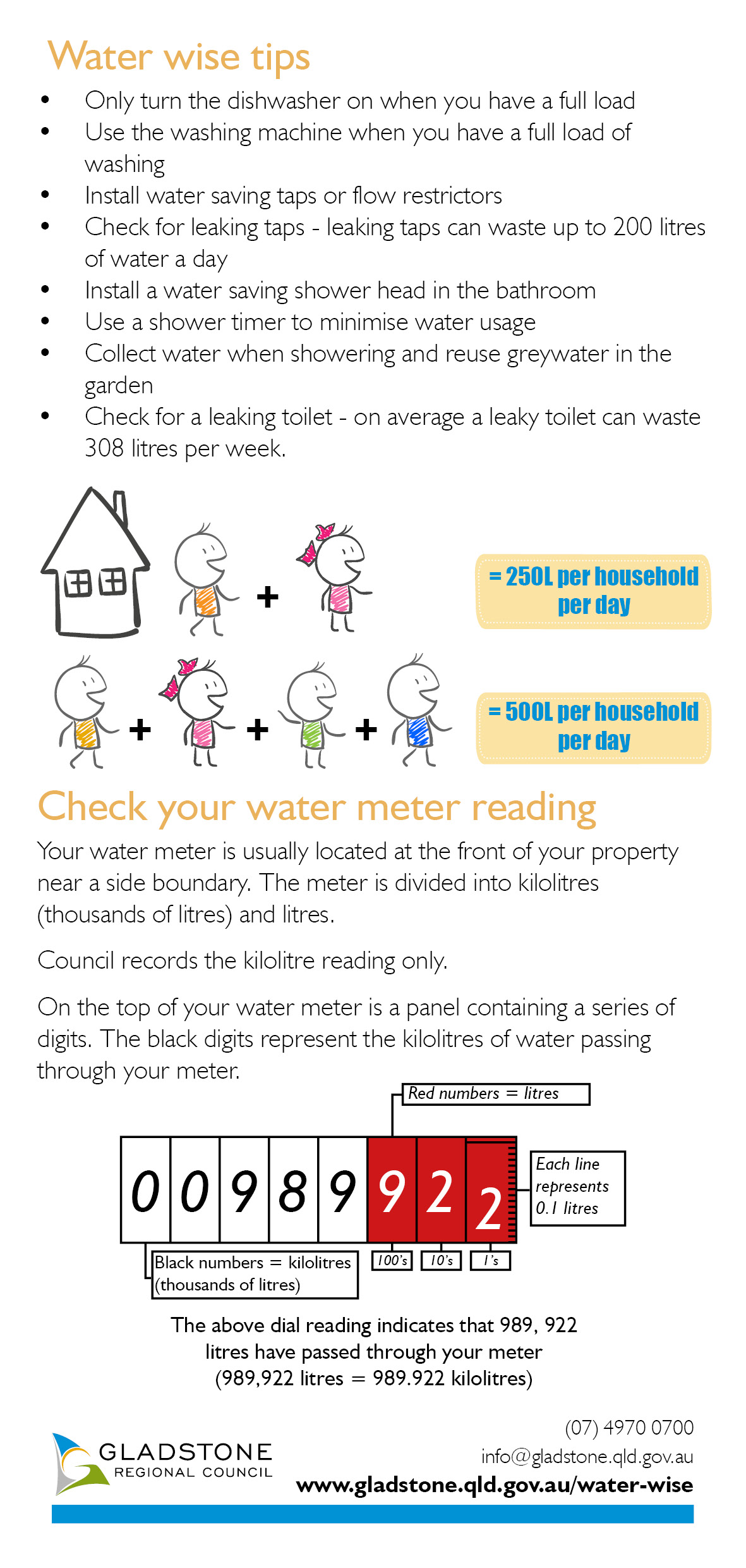 gladstone water bill pay